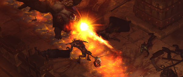 Sometimes you just want to watch things burn. Diablo 3 is like that. It burns a bit.