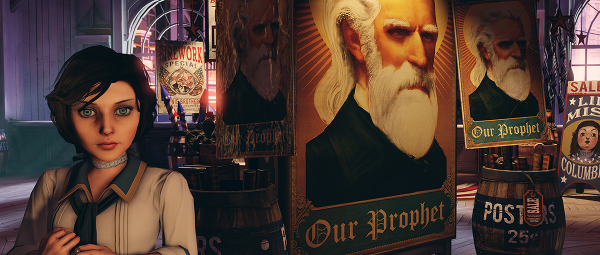 We've been waiting a long time for BioShock Infinite. Still can't wait.