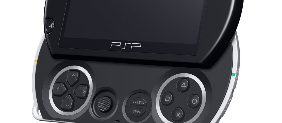 The PSP Go! Here's a metaphor Sony prepared earlier...