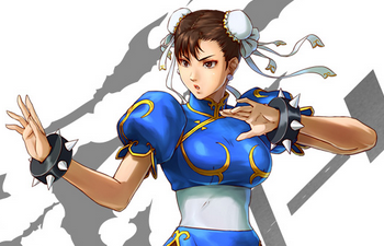 Chun Li. I dare say, more Street Fighter than any other character!