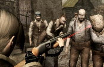 "Technically speaking, the PS2 version of Resident Evil 4 was rather ""shovelware""..."