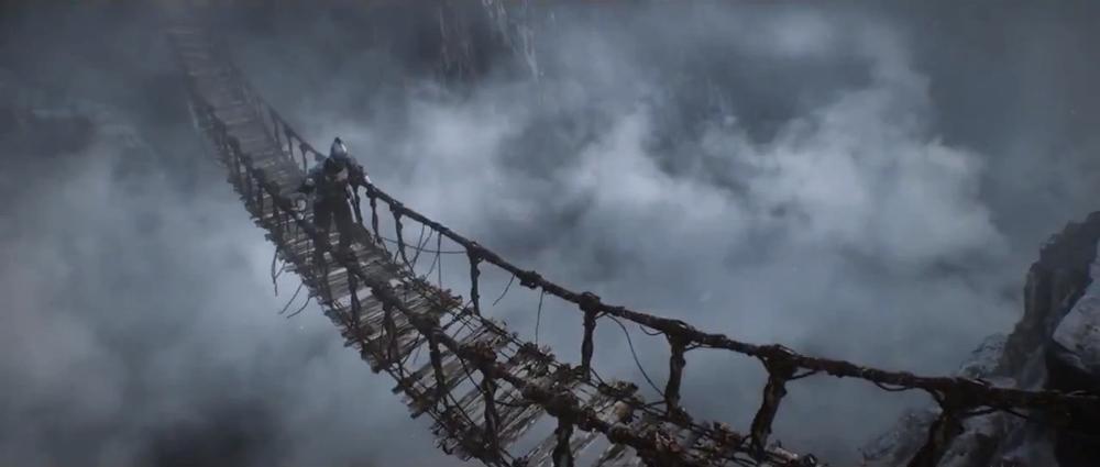 Dark Souls 2 Bridge CG